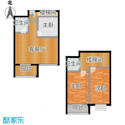 景泰花苑123.09㎡C户型3室1厅2卫