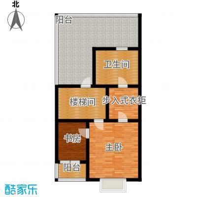 中信�台92.46㎡lb1-3层户型10室