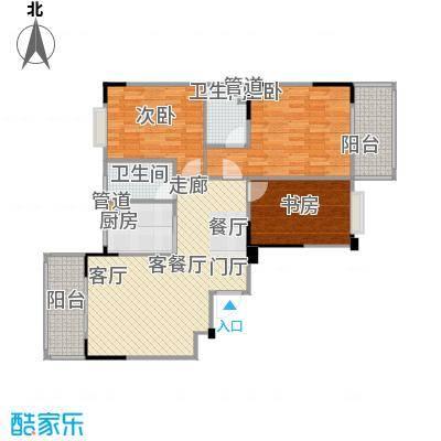 福地华庭113.90㎡福地华庭户型图房型:三房;面积段:113.9-120.24平方米;(3/3张)户型10室