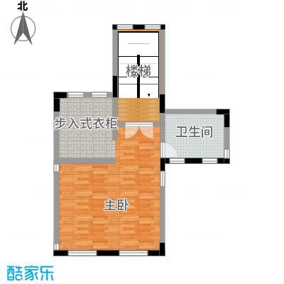 艾维诺森林63.06㎡独栋M三层户型2室1卫