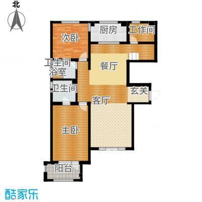 宜和澜岸128.15㎡A3首层户型10室
