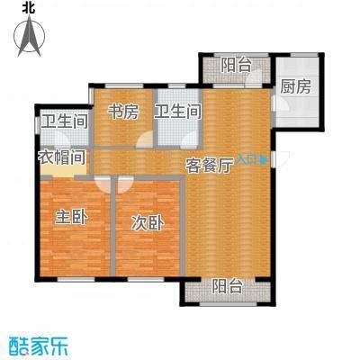 荣馨园151.13㎡D1户型3室2厅2卫