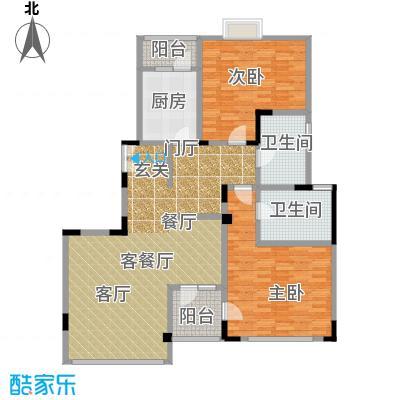 弘泽制造125.18㎡洋房F1-D户型10室