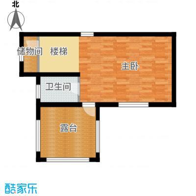 团泊湖庭院50.80㎡户型10室