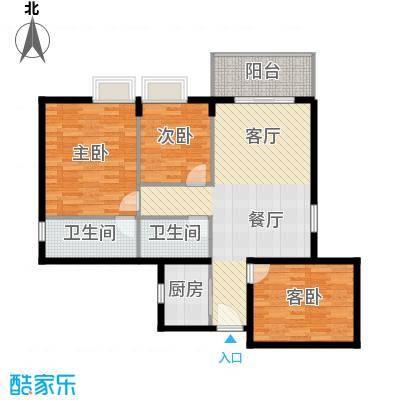 西厦大厦121.06㎡A户型10室