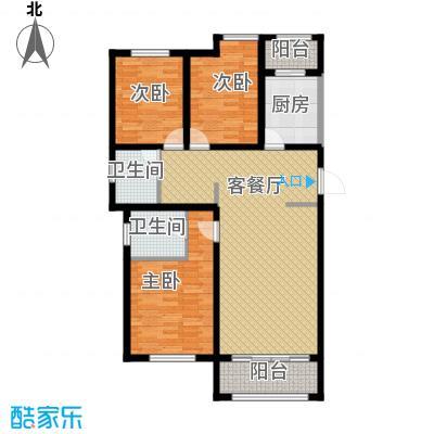 喜蜜湾103.65㎡户型10室