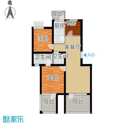 金厦龙第世家93.56㎡户型10室