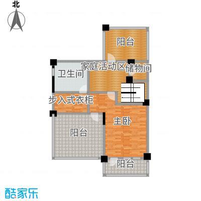 复地温莎堡116.74㎡双拼A三层平面图户型5室2厅6卫