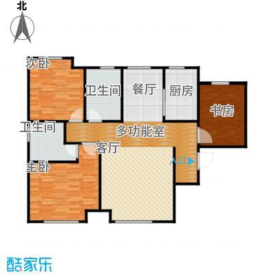 听涛苑120.00㎡G户型3室2厅2卫