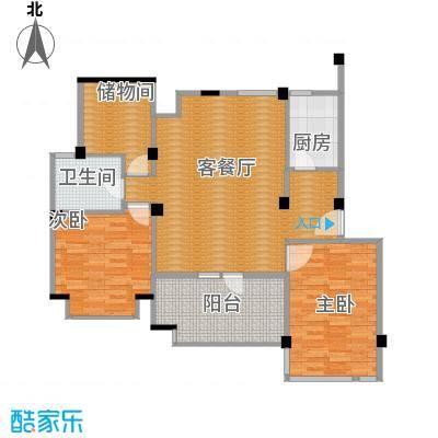 中天城市风景108.52㎡B5南户型10室
