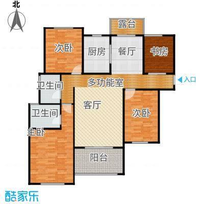 融侨城136.00㎡11号楼2单元A户型4室2厅2卫