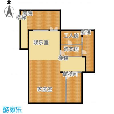 艾维诺森林145.44㎡独栋F地下一层户型3室2厅