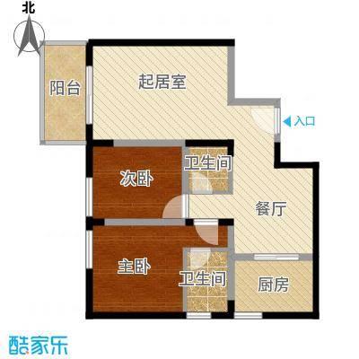 西厦大厦113.89㎡B户型10室