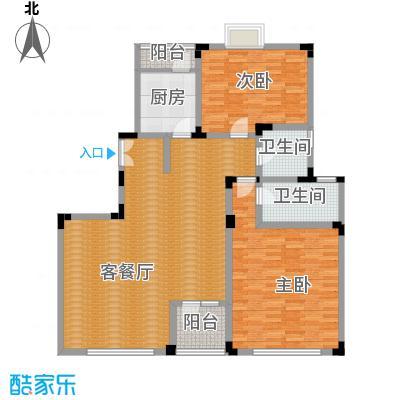 弘泽制造130.34㎡洋房F1-B户型10室