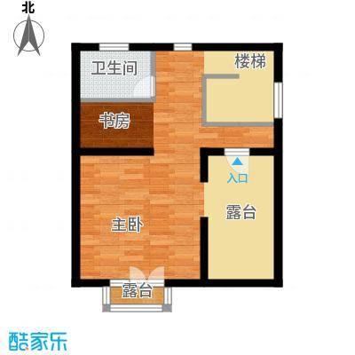 贻成水木清华55.16㎡别墅三期TH2三层户型10室