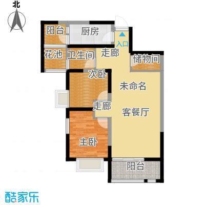 缤纷南郡90.03㎡中铁(偶数层)D1b户型10室