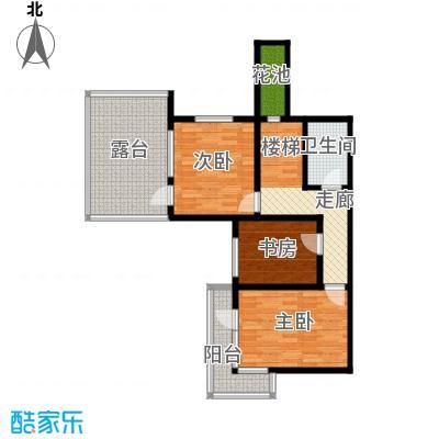 檀香海81.29㎡三层平面图户型10室