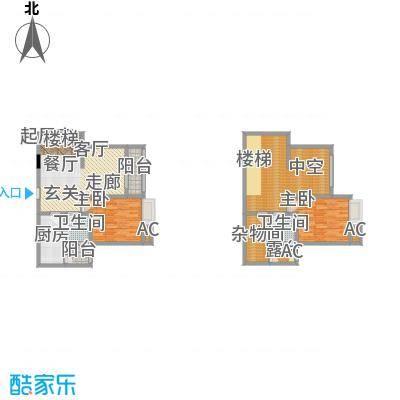 五星国色天香五星国色天香户型图H-6(4/12张)户型10室