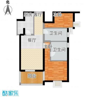 远雄兰苑105.00㎡B户型10室