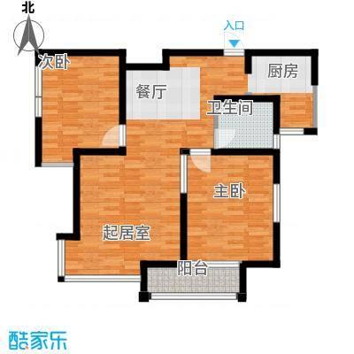 海河大道宽景公寓84.24㎡18号楼2门02户型10室