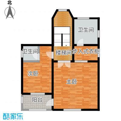 团泊湖庭院82.69㎡户型10室