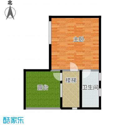 檀香海54.52㎡顶层平面图户型10室