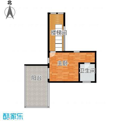 檀香海60.23㎡顶层露台户型10室