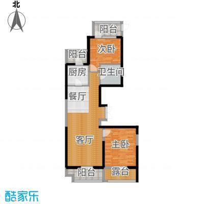 河东万达广场121.49㎡D3户型10室