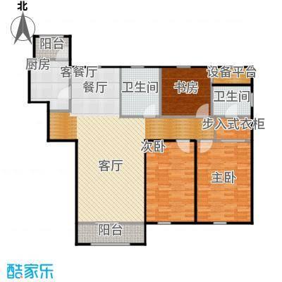 荣馨园149.22㎡D3户型3室2厅2卫