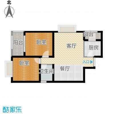 宫园壹号94.89㎡E3户型10室