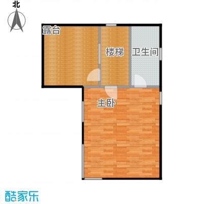 檀香海58.52㎡顶层平面图户型10室
