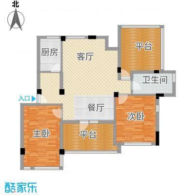 中天城市风景113.44㎡户型10室