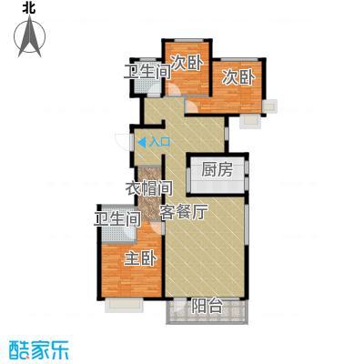 首玺157.14㎡C1户型3室3厅2卫