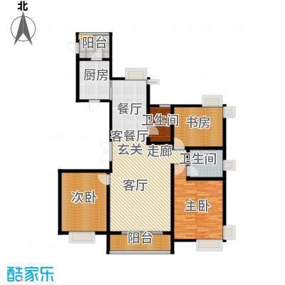 海河大道宽景公寓130.76㎡15号楼1门02金角户型10室