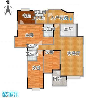 东方国际广场137.23㎡Jg型户型10室