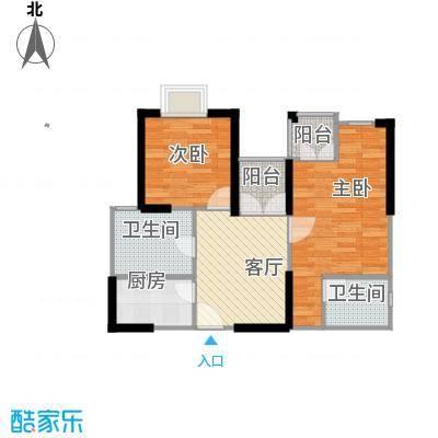 东方国际广场62.36㎡C型户型10室