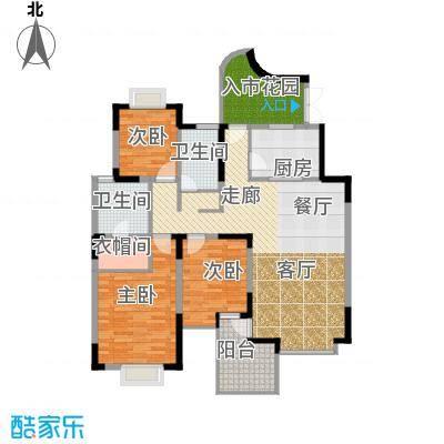 东方国际广场118.94㎡Bg型户型10室