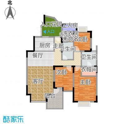 东方国际广场124.44㎡Ag型户型10室