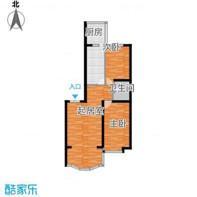 观江首府95.95㎡户型10室