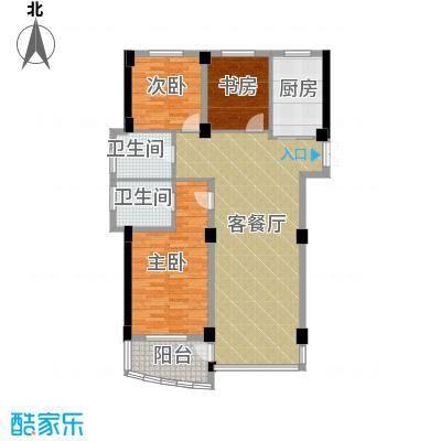和润公寓115.63㎡13022m2-13044m232套户型3室1厅2卫1厨
