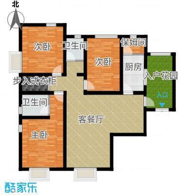 翰林观天下152.52㎡C-2户型3室2厅2卫