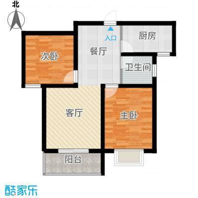 京海铭筑91.92㎡1号楼b1户型10室
