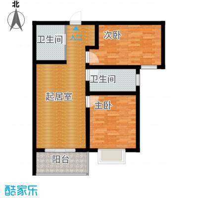 京海铭筑88.20㎡2号楼b1户型10室