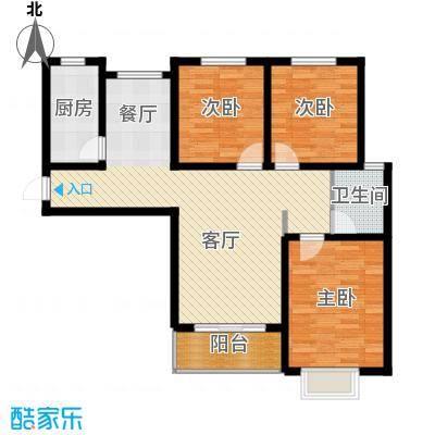 京海铭筑110.22㎡2号楼a2户型10室