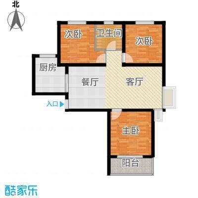 京海铭筑111.36㎡2号楼a1户型10室