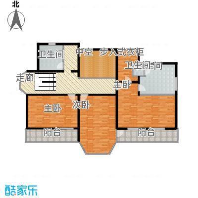 中浩青溪庄园157.54㎡F1二层平面户型10室