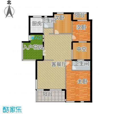 颐和南园别墅120.74㎡颐和南园叠拼--20套户型3室1厅2卫1厨