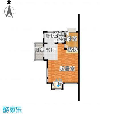 颐和南园别墅115.38㎡颐和南园s2联排别墅一层户型1卫