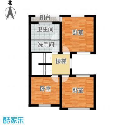 龙庭一品97.85㎡P1二层户型10室