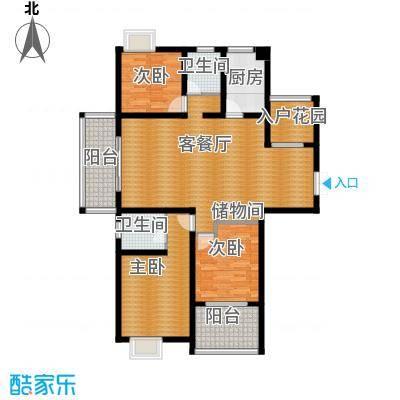 江雁mini格调135.00㎡F-1型户型10室